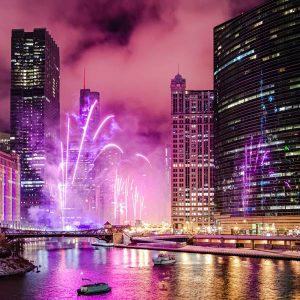 Where is the Magnificent Mile Lights Festival at?
