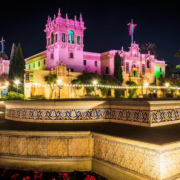 Festival of Lights Balboa Park