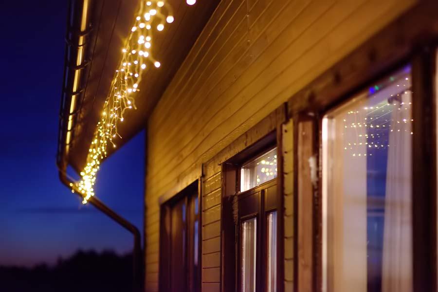 short Curtain Lights