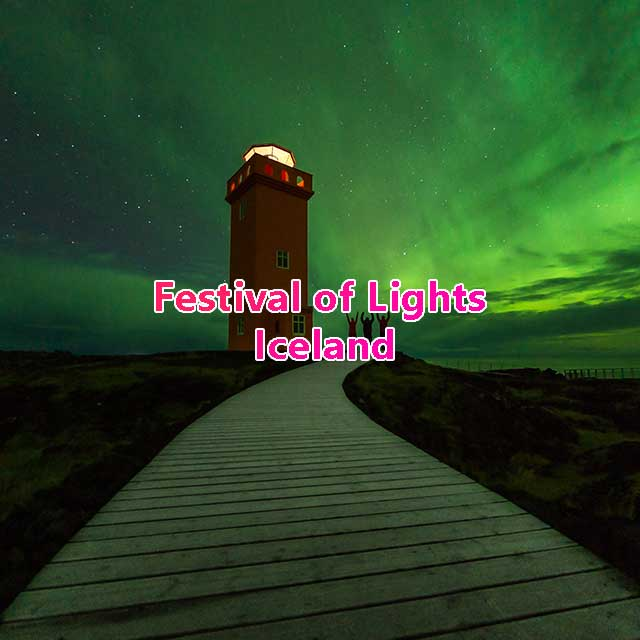 Winter Lights Festival Iceland