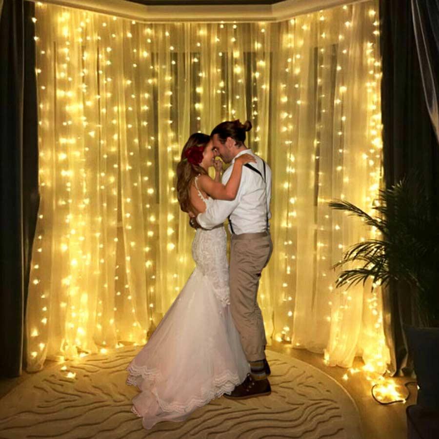 wedding Curtain Lights
