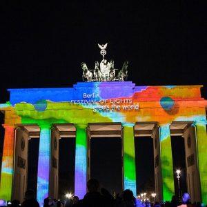 Festival-of-Lights Uhrzeit