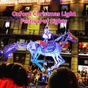 Oxford Christmas Lights festival