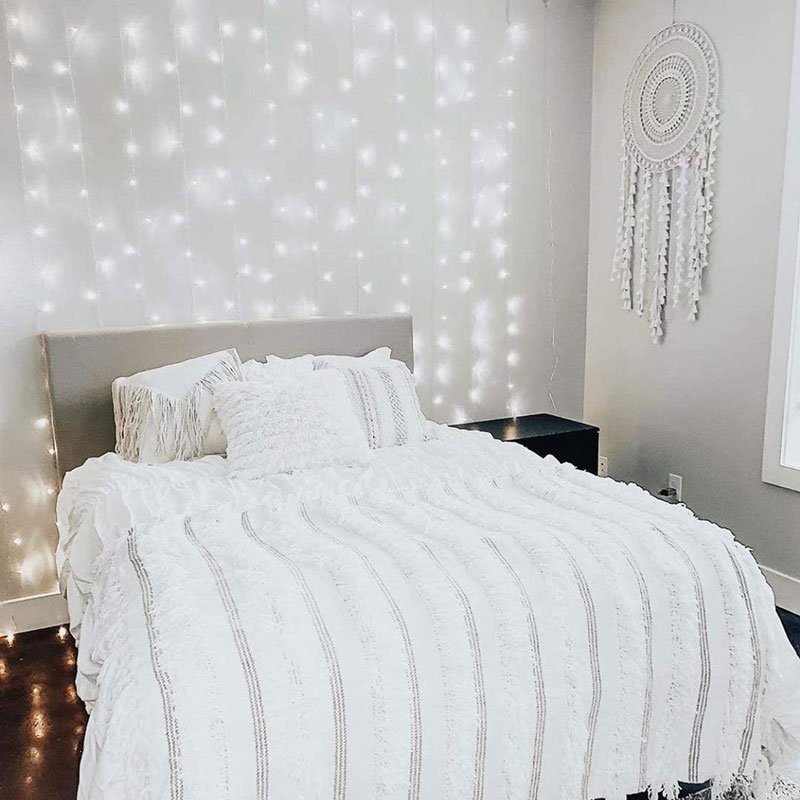 11. Fairy Lights Bedroom